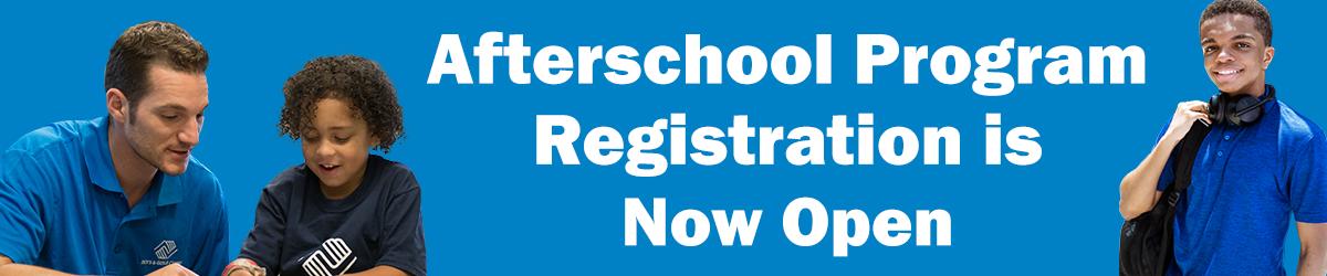 Afterschool Registration oprn graphic